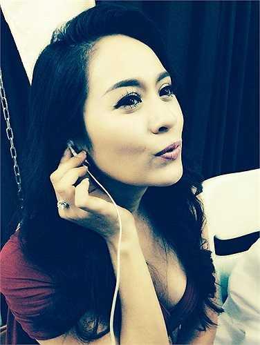 Thanh Thúy xinh đẹp.