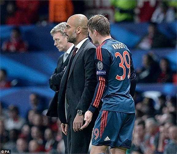 Toni Kross là cầu thủ đang được Man Utd nhắm tới mùa hè này