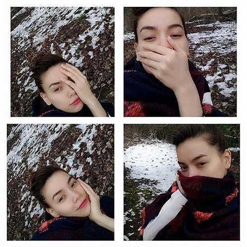 Hồ Ngọc Hà gửi hơi lạnh nơi cô đến về cho các fan của mình