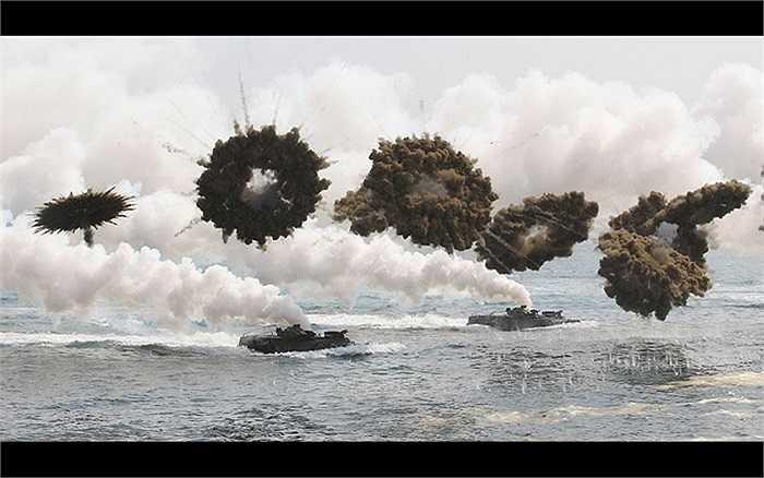 Phát ngôn viên Bộ Quốc phòng Hàn Quốc Kim Min-Seok nói nước này sẽ đáp trả kiên quyết các hành động tấn công