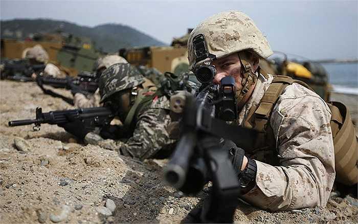 Khoảng 15.000 binh lính Mỹ, Hàn tham gia tập trận