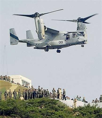 Trực thăng MV-22 Osprey hiện đại của Mỹ
