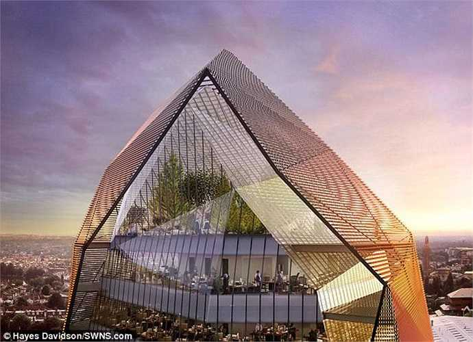 Nhưng chủ đầu tư khẳng định, đây sẽ là tòa nhà mang vẻ đẹp tương lai hấp dẫn nhất và độc đáo nhất, có thể giúp truyền tải những thông điệp về văn hóa, giáo dục và thương mại.