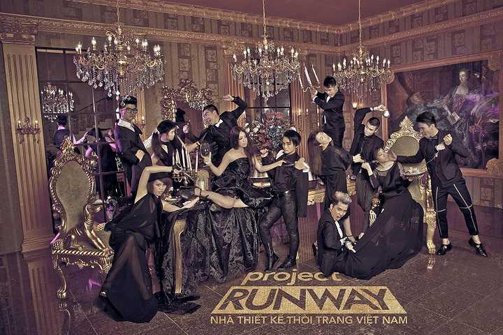 12 nhà thiết kế xuất sắc nhất của 'Project Runway – Nhà thiết kế thời trang 2014' đã được ban giám khảo lựa chọn, chính thức bước vào ngôi nhà chung của chương trình.