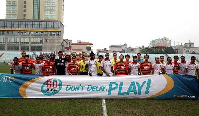 Nếu giành chiến thắng trận này, V.Ninh Bình của Văn Quyến sẽ chính thức vào vòng 2 AFC Cup 2014 trước hai vòng đấu.