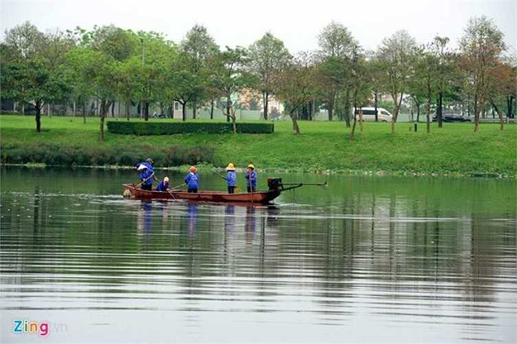 Sở Xây dựng đã kiến nghị UBND thành phố giao Công ty Gamuda Land Việt Nam chủ trì phối hợp với các cơ quan chức năng của thành phố và chính quyền địa phương xây dựng cơ chế phối hợp và nội quy ra vào công viên.