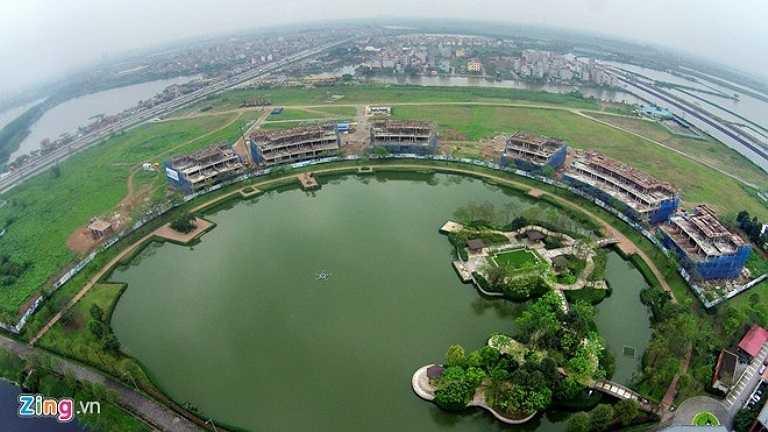 Là công viên đô thị lớn nhất Việt Nam, công viên xanh lớn nhất Hà Nội, Yên Sở có tổng diện tích 323 ha, bên trong công viên vẫn còn nhiều hạng mục đang trong quá trình xây dựng.