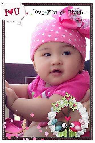 Jennifer Phạm chia sẻ hình ảnh cô công chúa nhỏ cực đáng yêu.