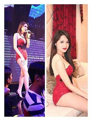Hương Giang Idol nóng bỏng.