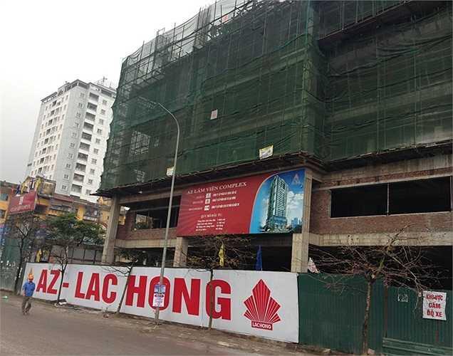 Dự án AZ Lâm Viên tại địa chỉ 107 Nguyễn Phong Sắc (quận Cầu Giấy, Hà Nội)được khởi công xây dựng từ năm 2010. Tuy nhiên, dự án gần như nằm bất động trong suốt một thời gian dài.