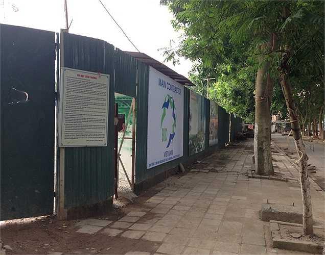 Sau nhiều tai tiếng liên quan đến thủ tục pháp lý, dự án đã được khởi động vào tháng năm 2013.