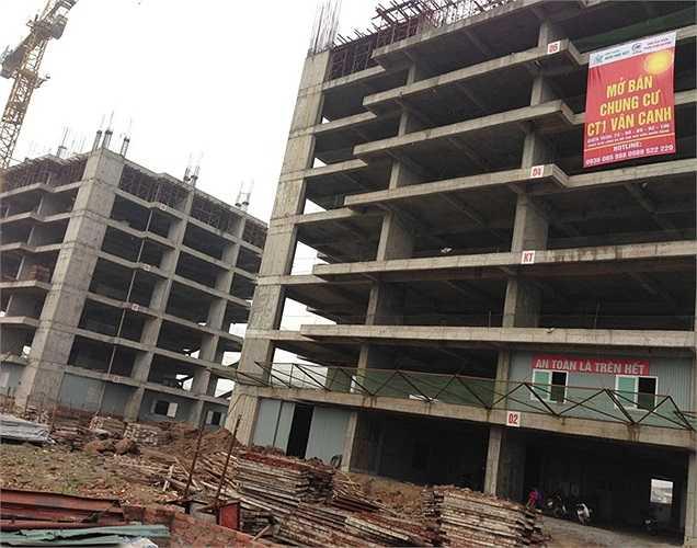 Tuy nhiên, đến nay dự án này hiện đã thực hiện đến sàn tầng 5 và trên công trường hiện các đơn vị thi công vẫn đang thực hiện 2 tòa.