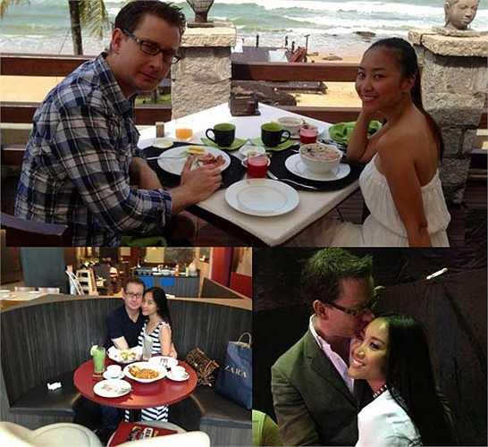 Công việc của Johan thường xuyên đi lại giữa các nước, vậy nên Đoan Trang và chồng luôn sát cánh bên nhau trong mỗi chuyến đi.