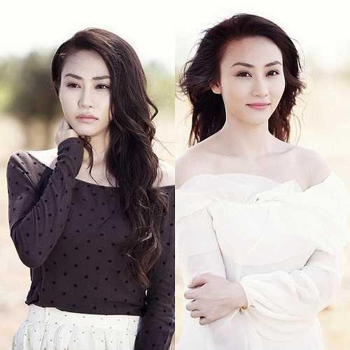 Hình ảnh thường thấy trong mỗi MV ca nhạc Ngân Khánh gửi tặng khán giả là một cô gái mong manh cổ điển trong bộ áo sơ mi và chân váy dài tha thướt.