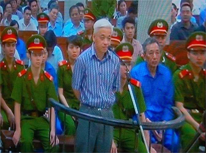 Trong lời phát biểu ý kiến của mình, Bầu Kiên (tức Nguyễn Đức Kiên) đã nói những lời dõng dạc. Ông Kiên đề nghị tòa phải triệu tập hàng loạt người liên quan.