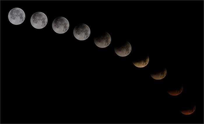 Đây mới chỉ;lĐây mới chỉ là lần đầu tiên chúng ta có thể chiêm ngưỡng mặt trăng máu. Từ giờ tới tháng 9/2015, sẽ còn 3 lần mặt trăng máu xuất hiện.