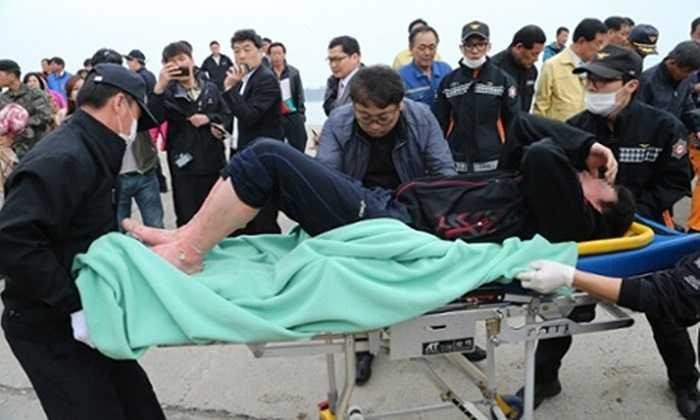 Các nạn nhân được cấp cứu ngay tại chỗ