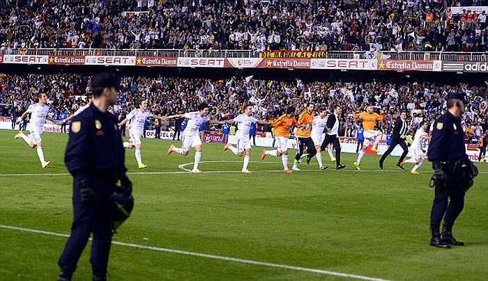 Sau 2 năm, Real Madrid mới lại là nhà vô địch ở  cúp Nhà vua
