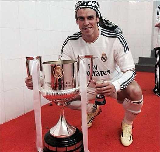 Bale cạnh danh hiệu đầu tiên trên đất Tây Ban Nha