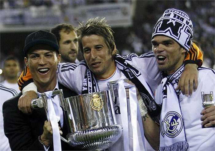 Ronaldo, Coentrao, Pepe - những đồng đội thân thiết