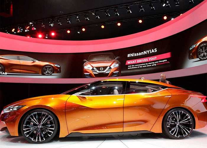 Nissan Sport sedan concept, cái nhìn hướng tới tương lai dành cho các dòng sedan của Nissan.