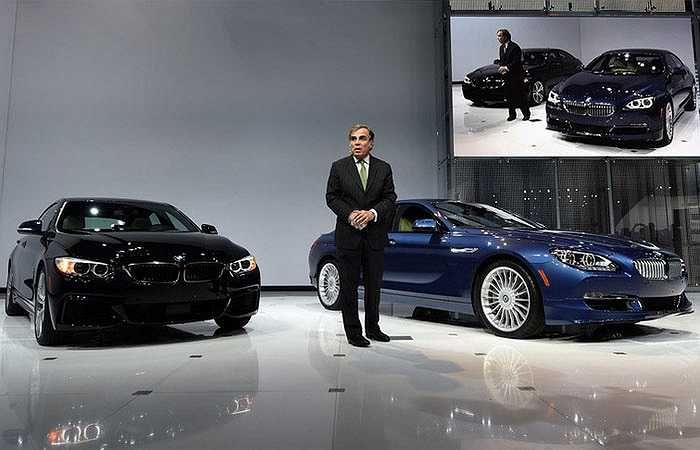 Dàn xe mới của BMW tại triển lãm New York 2014