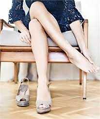 Đau mắt cá chân: Giày cao gót giới hạn sự chuyển động và sức mạnh của khớp nối mắt cá chân, gân nối giữa bắp chân với gót chân bị ngắn lại và gây kéo căng cơ liên kết với xương gót chân.