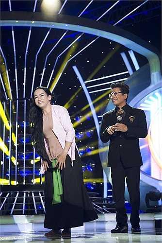 Hình ảnh đẹp của hai bố con Minh Thuận làm cho tiếp tục ghi điểm với khán giả.