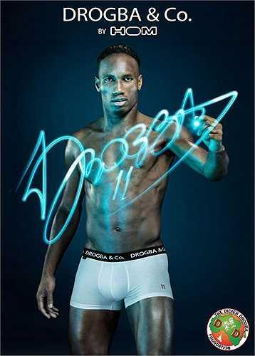 Drogba vừa cho ra mắt bộ sưu tập trong nhãn hiệu thời trang mới của mình
