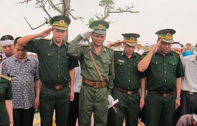 Vĩnh biệt Anh - Trung tá Nguyễn Văn Đãi, người chiến sỹ dũng cảm, quên mình bảo vệ Tổ quốc.