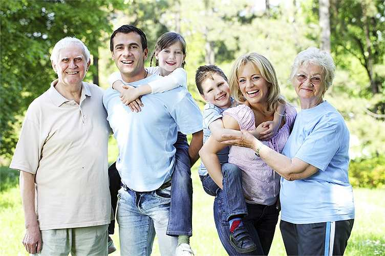 Đối với người thân trong gia đình: