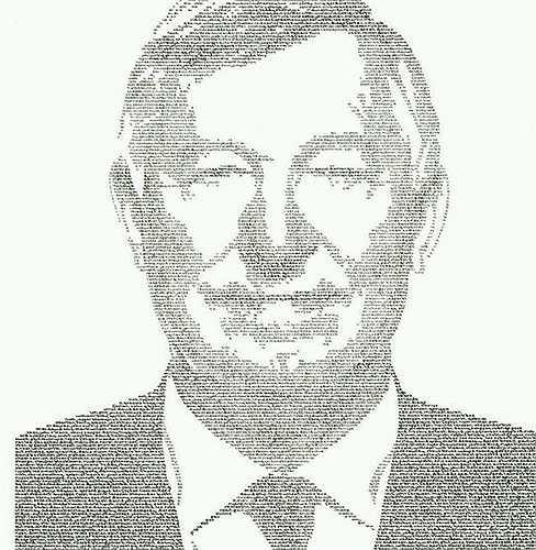 Hình ảnh Sir Alex vừa được khắc họa lại bằng tên của các học trò