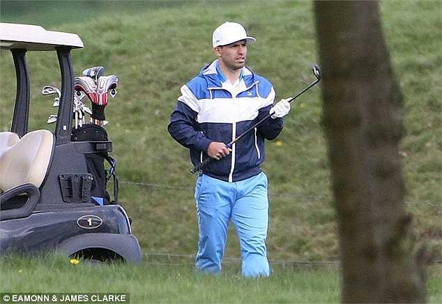 Tiền đạo người Argentina cũng là một tay golf nghiệp dư khá cừ