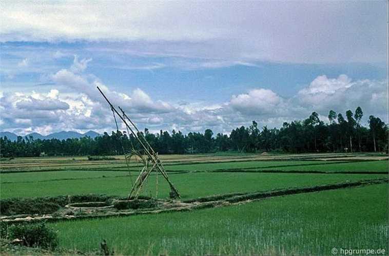 Phong cảnh tại Quảng Ngãi trên đường đến Mỹ Lai.