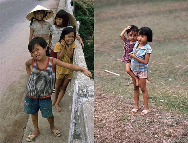 Trẻ em ở Quảng Ngãi.