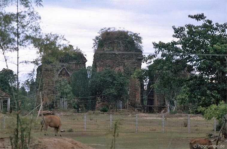 Tháp Chăm ở Quảng Ngãi.