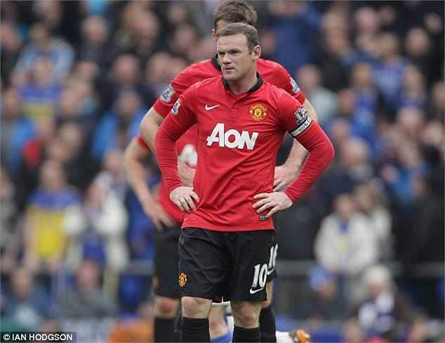 Sự thất vọng tận cùng của Rooney
