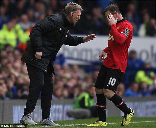 Dadvid Moyes và Rooney đã thất trận trong ngày trở về 'chốn xưa'