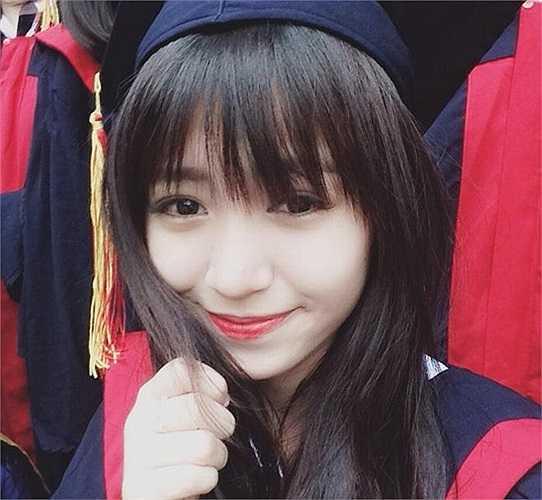 Sau khi kết thúc kỳ thi tốt nghiệp, Mẫn Tiên sẽ dự thi trường ĐH Kinh tế Quốc dân và ĐH Thăng Long (Hà Nội). (Ảnh: FBNV)