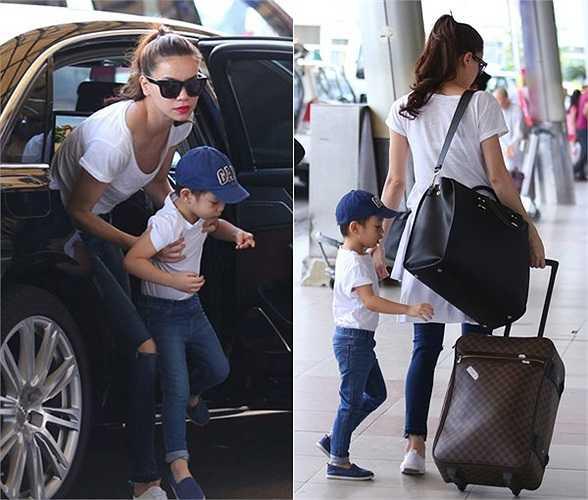 Mới đây nhất, Subeo được mẹ Hà đưa đi lưu diễn cùng nhân dịp nghỉ cuối tuần. Hình ảnh cậu bé 4 tuổi xuất hiện cùng bố mẹ ở sân bay trở nên khá quen thuộc với khán giả. (Theo Zing)