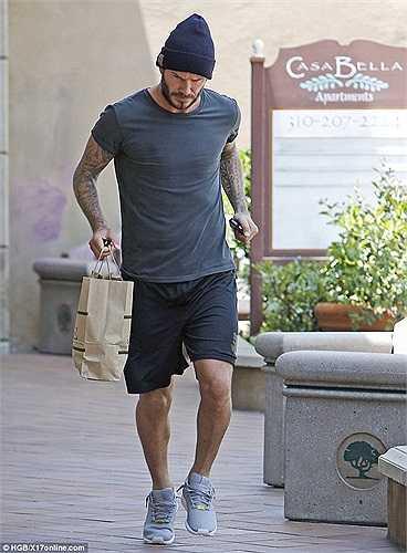 David Beckham đã hoàn thành xong vai diễn trong bộ phim tư liệu về Brazil