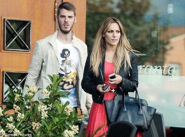 De Gea tranh thủ thời gian nghỉ ngơi cùng bạn gái Edurne Garcia Almagro trước khi tập trung cùng ĐT Tây Ban Nha