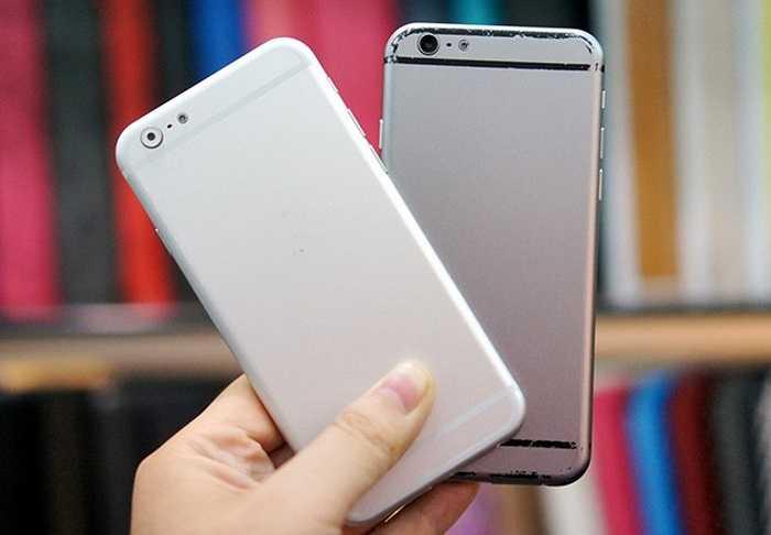 Thiết kế của mô hình iPhone 6 được lấy cảm hứng từ dòng iPod Touch và các mẫu iPad thế hệ mới.