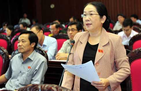 Đại biểu Võ Thị Dung
