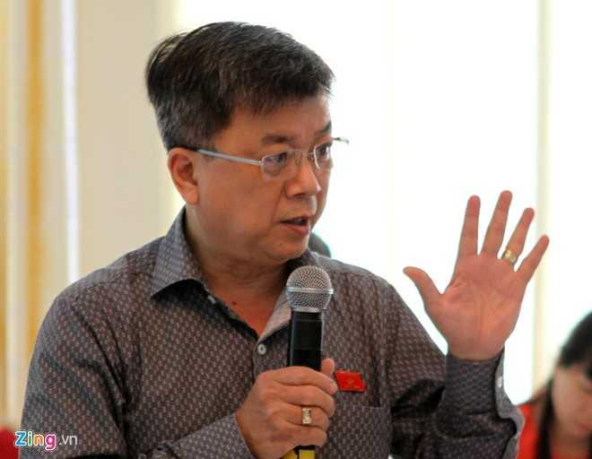 Đại biểu Trương Trọng Nghĩa. Ảnh: Nguyễn Hưng.