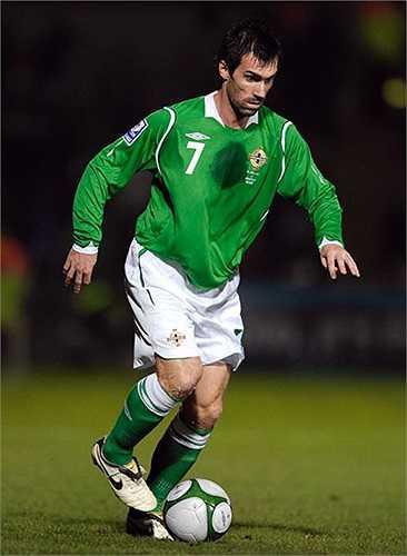 Keith Gillespie (Bắc Ireland) - 86 lần