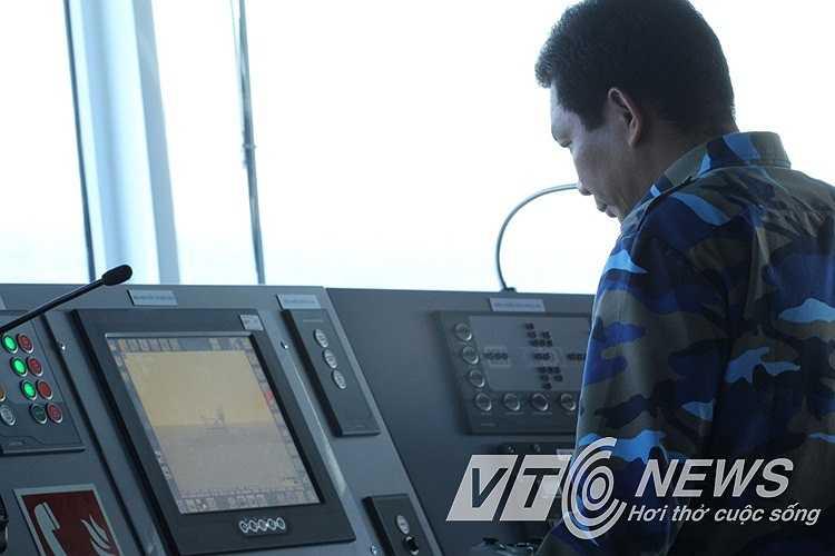 Lực lượng cảnh sát biển làm nhiệm vụ chấp pháp, yêu cầu Trung Quốc rút giàn khoan Hải DƯơng 981 ra khỏi vùng biển Việt Nam.
