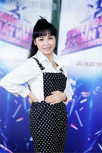 Dù vậy Trang Nhung đã không ngại tập luyện ngày đêm.