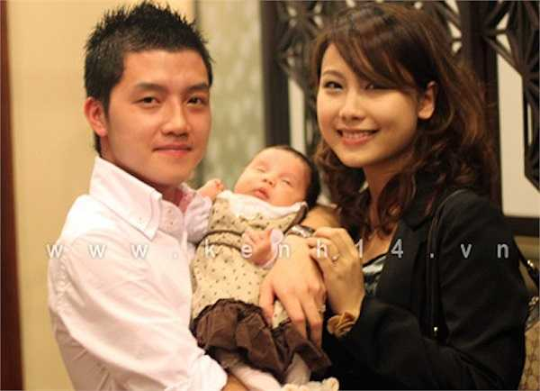 Khuôn mặt bầu bĩnh, đôi mắt to tròn là những nét đẹp Chun được thừa hưởng từ mẹ