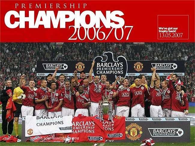 Sau 3 năm chịu lép vế trước Arsenal và Chelsea, Quỷ đỏ đã giành lại được ngai vàng Premier League mùa giải 2006-2007.